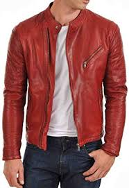 fashion fs lambskin leather men s