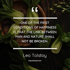 one of the first conditions of hap leo tolstoy about happiness