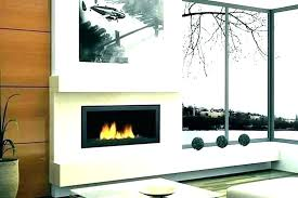 modern portable fireplace indoor wall