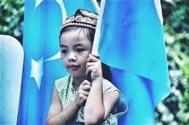 Doğu Türkistan'da Suda dormuş  Uygur çocuğun resmi ile ilgili görsel sonucu