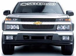 Sticker Kit For Chevrolet Silverado Window Front Windshield Seal Pick Up Lift Chevrolet Silverado Windshield Sticker Kits
