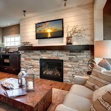best stone fireplace wall ideas on