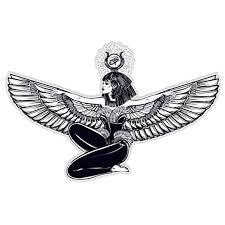 Egyptian Goddess Isis Vinyl Sticker Waterproof Decal Sticker 5 Walmart Com Walmart Com