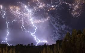thunder and lightning wallpaper on