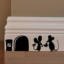 Mini Mouse Mice Rat Heart Cave Door Postbox Decor Gift Decal Car Truck Window Bumper Stairs Wall Pc Sticker Halloween Xmas In Car Stickers From Automobiles Motorcycles On Aliexpress