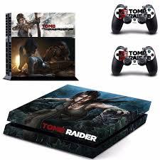 Game Tomb Raider Ps4 Skin Sticker Consoleskins Co