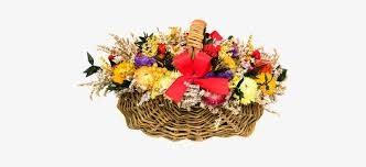Flowers, Arrangement, Heart, Autumn - May Day Baskets Ideas Transparent PNG  - 510x340 - Free Download on NicePNG