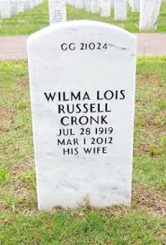 Wilma Lois Russell Cronk (1919-2012) - Find A Grave Memorial
