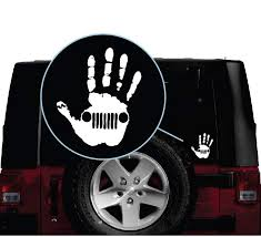 Jeep Wave Hand Vinyl Decal Stickers Sticker Flare Llc