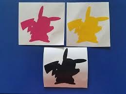 Pikachu Decal Zeppy Io