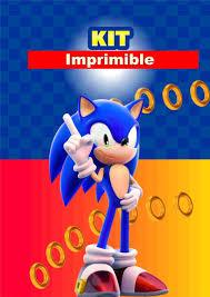 Sonic Kit Imprimible Personalizado 380 00 En Mercado Libre