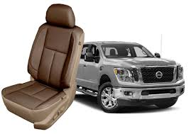 nissan titan seat covers leather