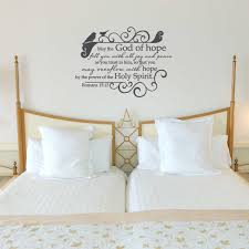 Romans 15 13 May The God Of Hope Wall Decal A Great Impression