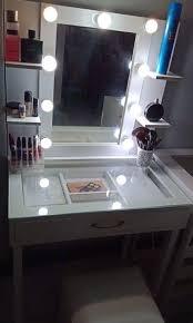 small dresser set vanity mirror with