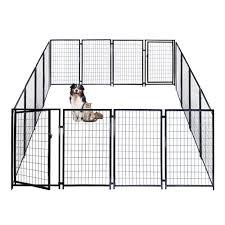 Heavy Duty Pet Playpen Dog Kennel 16 Panel 4 X 2 5 Feet Each Buy 10x10x4 Dog Kennel Playpen Online Aleko