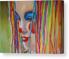 Complementary Canvas Print / Canvas Art by Myra Evans