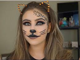 glam cat makeup tutorial marki