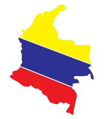 Colombia Colombian Bandera Flag Decal Sticker Car Vinyl No Background Ebay