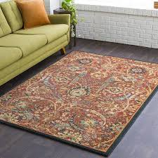 area rug size