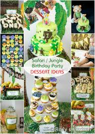 jungle themed first birthday party part