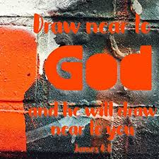 com christian quote x print bible verse draw near