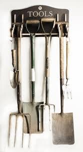 garden tool storage rack gardeners gift