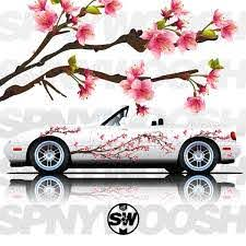 Realistic Sakura Tree Livery Spinnywhoosh Graphics