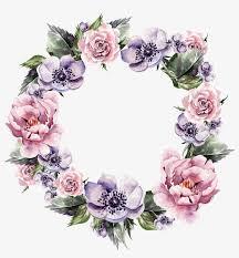 floral garland png vector transparent stock flower wreath wreath