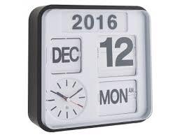 white small ogue year wall clock