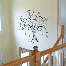 Tree Leaves Silhouette Wall Quotes Wall Art Decal Wallquotes Com