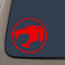 Thundercats Decal Sticker 5 5 Inches Wide Red Vinyl Decal Car Truck Van Suv Laptop Macbook Wall Decals Walmart Com Walmart Com