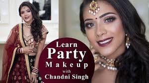 party makeup tutorial bridal makeup
