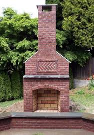 build a fire pit with chimney awesome