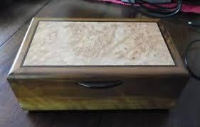 decorative wooden trinket jewelry box