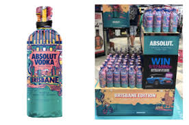 bottle bags for absolut vodka