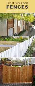 Plastic Fencing Building A Fence Backyard Fences Diy Fence