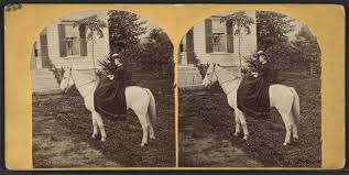 File:Miss Lizzie Smith of Canajoharie and her horse Cricket (23 ...