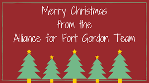 Merry Christmas from the entire Alliance for Fort Gordon Team! - Fort  Gordon Alliance
