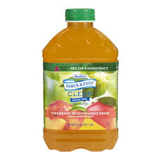 thick easy apple juice nectar