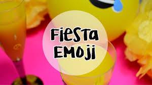 Fiesta Emoji Diy Party Emoji Youtube