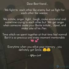 dear best friend quotes writings by शुभ्am jaiन