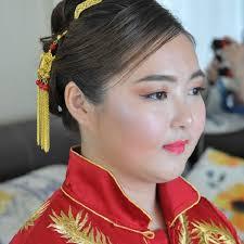 chinese wedding et makeup hairdo