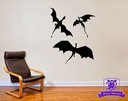 3 Dragons Wall Decal Decor Inspired By G Buy Online In Macedonia At Desertcart