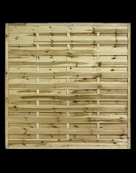 Rospal Square Horizontal European Fence Panels Fence Panels In Wigan Composite Decking Artificial Grass