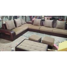 6 seater l shape sofa set rs 40000