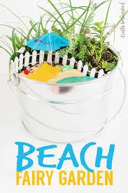 diy beach fairy garden idea consumer