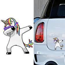 4 Dabbing Unicorn Sticker Dab Car Window Bumper Laptop Art Vinyl Decal Ebay