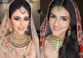 south indian bridal makeup and