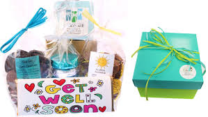 get well bright gourmet chocolate gift