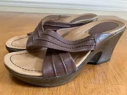dansko womens neeci brown leather criss